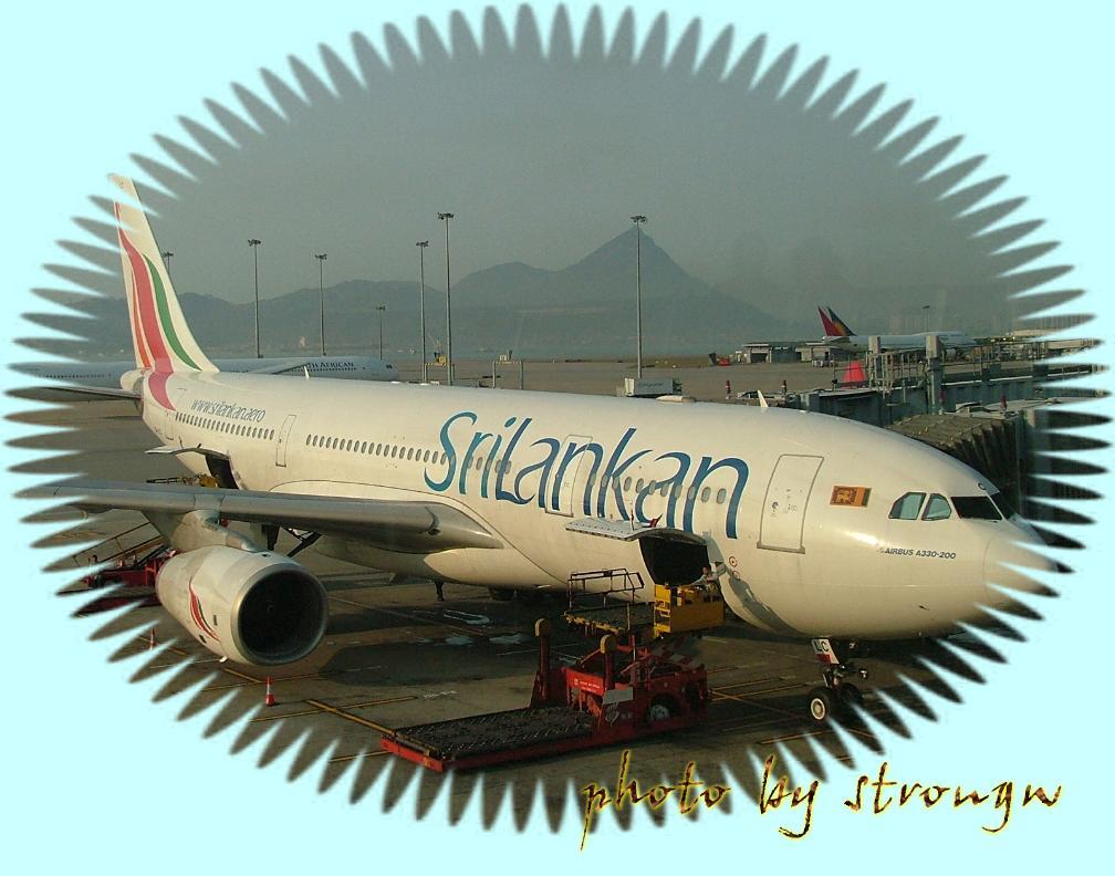 srilankan的飞机
